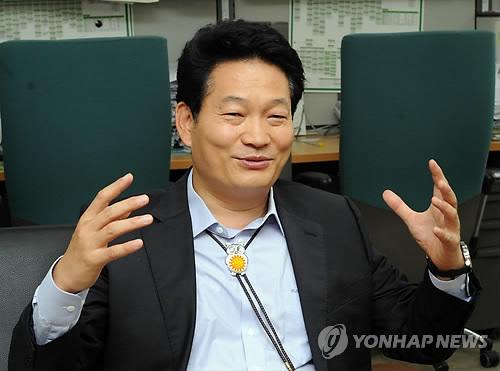 송영길 인천시장 기자간담회