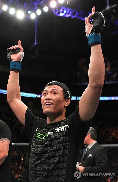 '코리안 좀비' 정찬성 UFC 2연승 도전