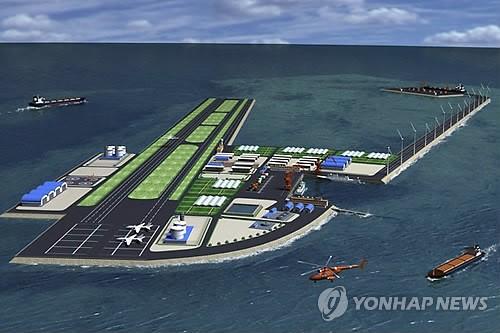 中国在南海人工岛建飞机场 韩国人如此骂!