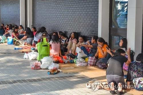 """""""중국서 필리핀 가사도우미 고용 성행…불법 근로자 10만명"""""""