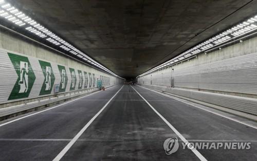 국내 최장 해저터널인 인천북항터널