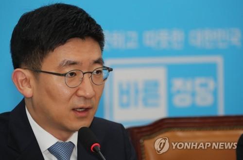 국감대책회의 발언하는 김세연 정책위의장