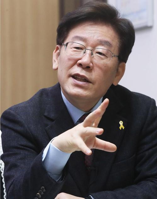이재명 성남시장 15일 사임…경기지사 출마 배수진