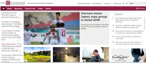 일본도 격파한 '박항서 축구 매직'에 베트남 열광