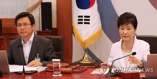 """""""黃 면회 거절"""" 박근혜 옥중메시지…한국당 전대 파장 있나"""