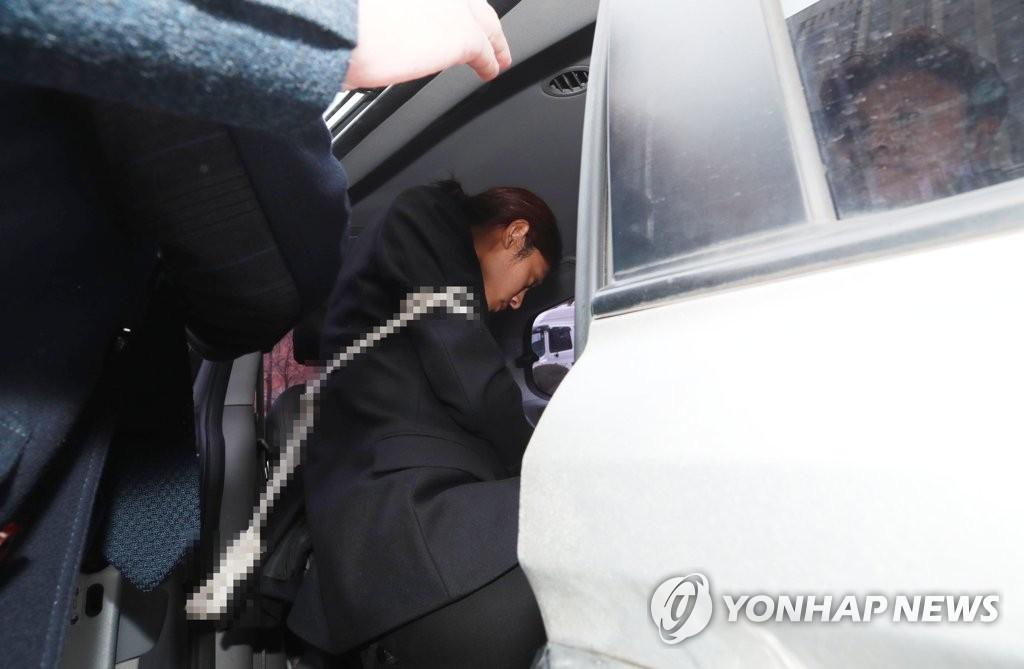 영장심사 마친 '성관계 몰카' 정준영