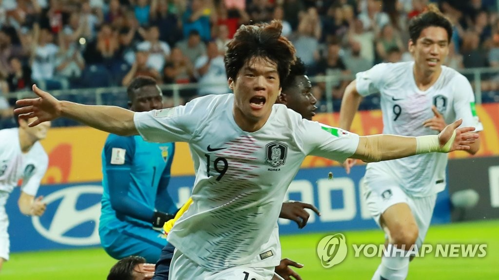 최준 선제골 '결승 가자!'