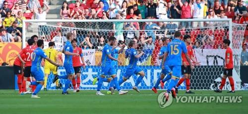 -U20월드컵- '아! 역전패' 한국, 우크라이나에 막혀 사상 첫 준우승(종합)