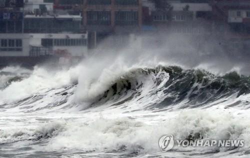 초강력 가을 태풍 타파…육해공 올스톱에 인명피해 속출(종합2보)