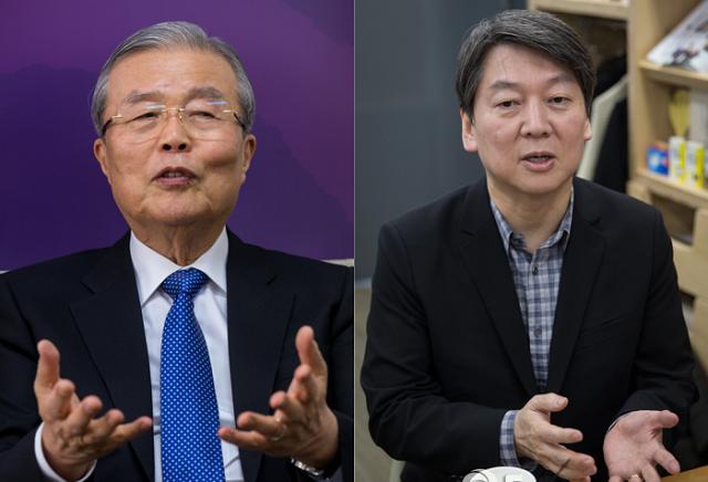 김종인과 안철수, 낯 뜨거운 '광주 전쟁'