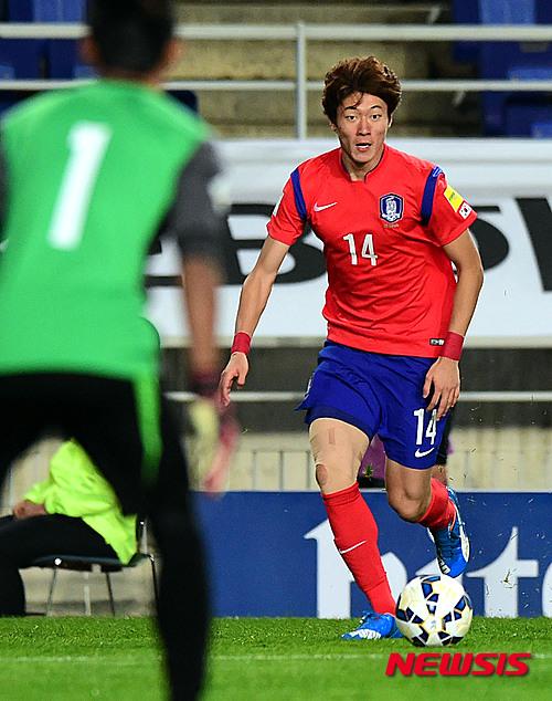 [축구]황의조·이창근·이광혁·김민태, 신태용호 예비엔트리 - 포토뉴스