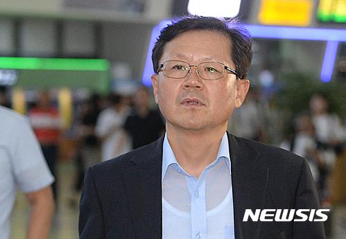 서울 올라온 윤갑근 대구고검장