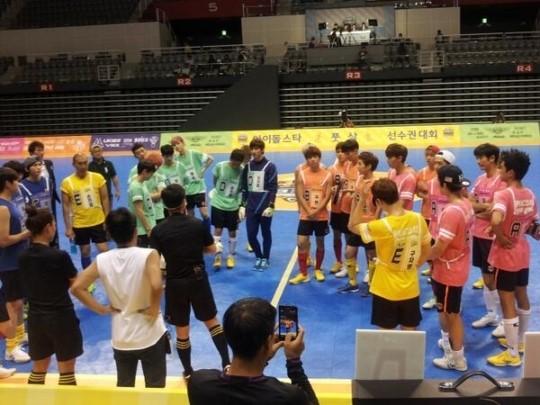 '아육대' 현장사진, 엑소 비투비 인피니트 비스트 등 비공개 현장 '공개'