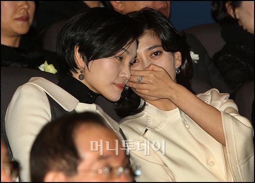 [사진]이부진-이서현 '소곤소곤'
