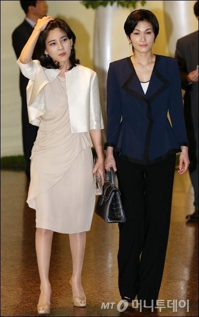[사진]이부진-이서현 '럭셔리한 삼성 자매'