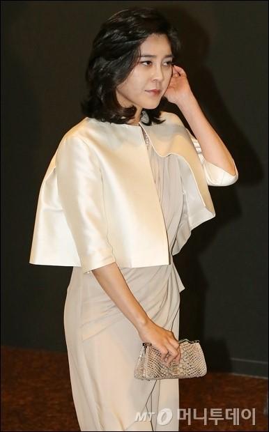 [사진]이부진 사장 '럭셔리 패션'