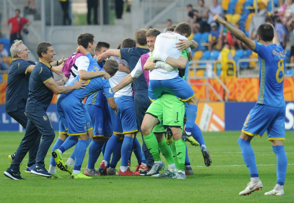 [U-20 월드컵]우크라이나, 이탈리아 잡았다…사상 첫 결승 진출