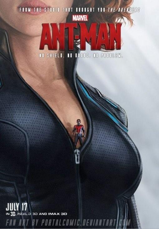 """마블의 새로운 히어로 `앤트맨`…포스터 보니 """"깜짝"""""""