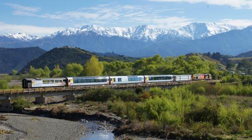 [겨울 힐링여행] 뉴질랜드 기차여행, 시간을 달리는 기차 세상을 품다
