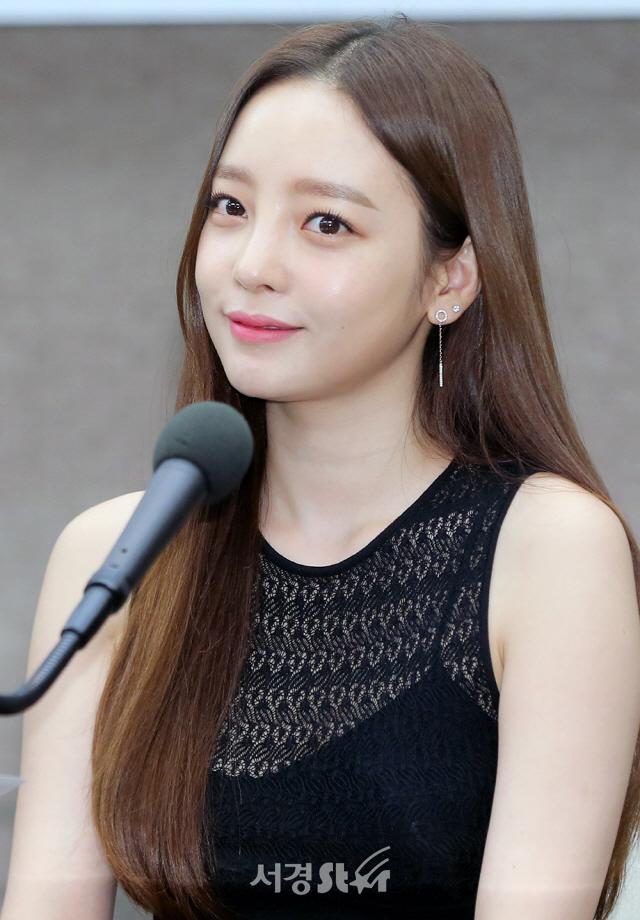 구하라, '무결점 요정 미모'