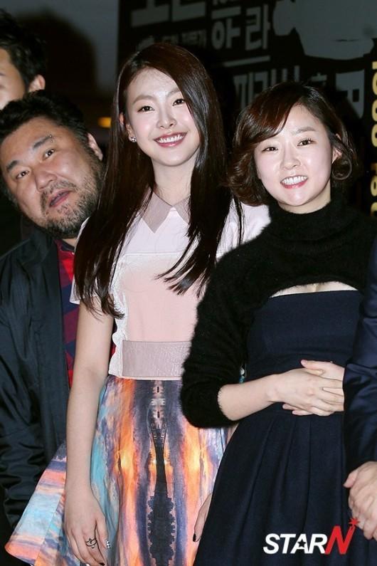 [포토] 고원희-이채은 두 미녀 뒤 귀여운 야수 고창석