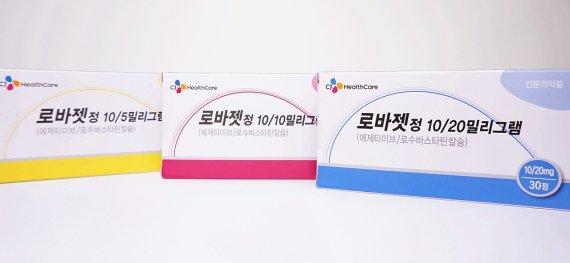 CJ헬스케어, 고지혈증 복합제 '로바젯' 출시