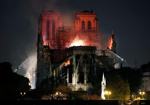 노트르담 대성당 화재 원인…