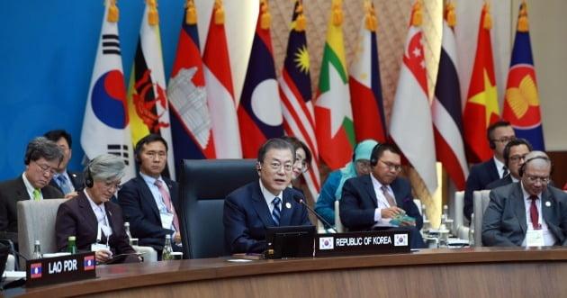 한·아세안 정상회의 종료…신남방정책 등 미래 청사진 제시