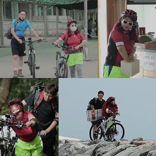 '아내의 맛' 홍현희♥제이쓴, '난이도 極上' 삽시도 산악자전거 여행기