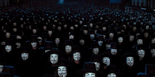 광복절 집회 금지…서울대 게시판에 소환된 '브이 포 벤데타'