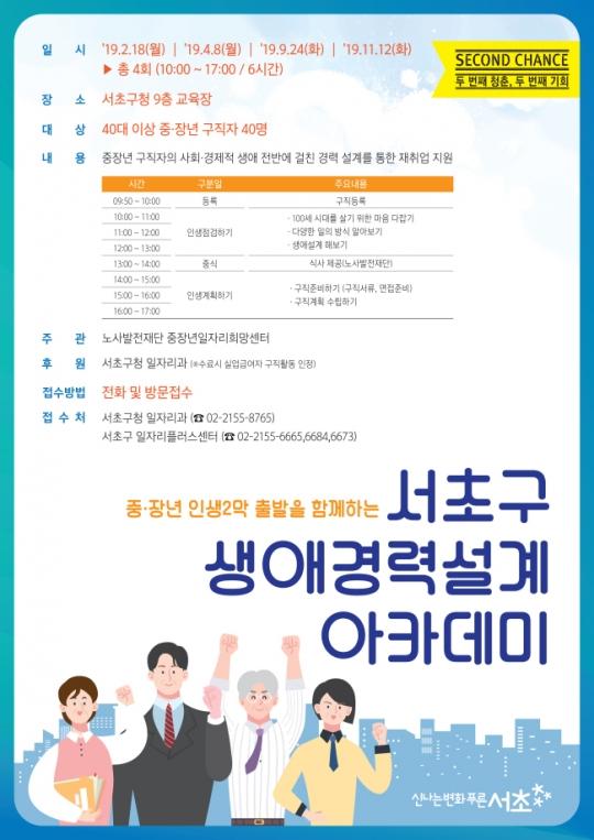 서초구, 생애경력설계 아카데미 개최
