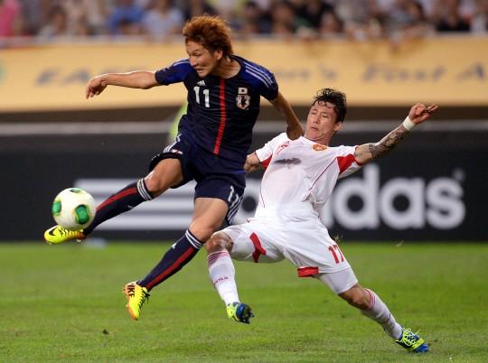 중국, 2골차 열세 딛고 일본과 3-3 무승부