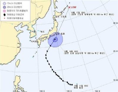 일본 태풍 위파 日 도쿄 강타, 후쿠시마 원전도 '위험지대'