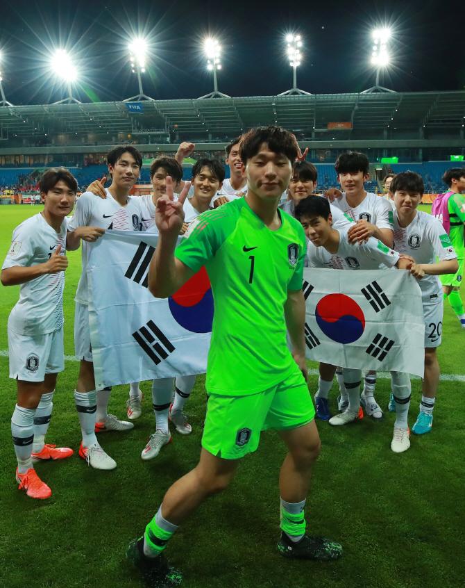 [U-20 월드컵]4강전에서도 빛난 '빛광연' 슈퍼세이브