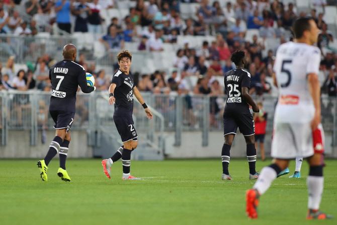 황의조, 프랑스 진출 후 프리시즌 첫 골 작렬