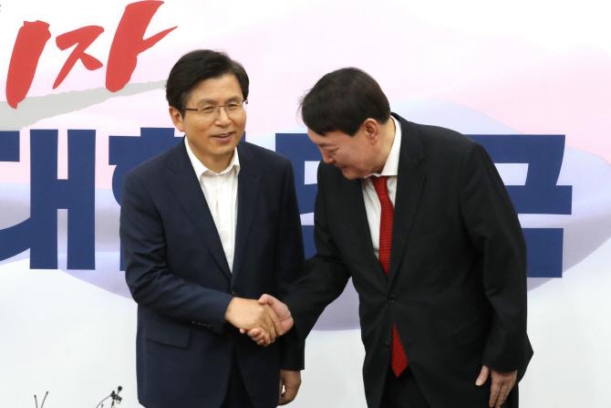 """윤석열 만난 황교안·나경원..""""정치의 사법화"""" 우려 전달(종합)"""