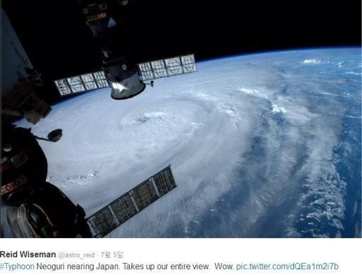 태풍 너구리, 어마어마한 소용돌이에 '화들짝'… 예상 경로는?