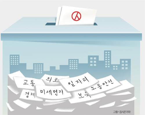[뉴스 인사이드] 정치현안보다 미세먼지·일자리 관심… 유권자 '내 몫 찾기'