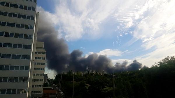 `인천 서구 화재` 실시간 트위터 사진