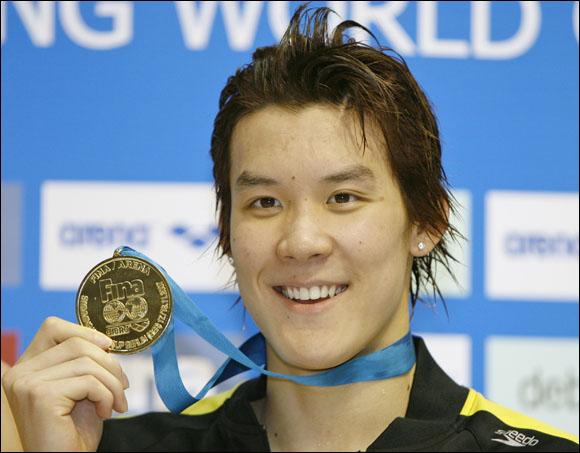 박태환, 또 400m 우승