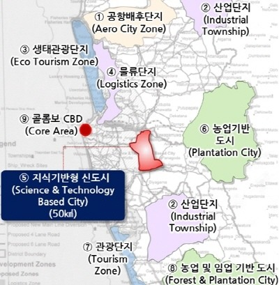 Korea to join Sri Lanka's $63b smart city project