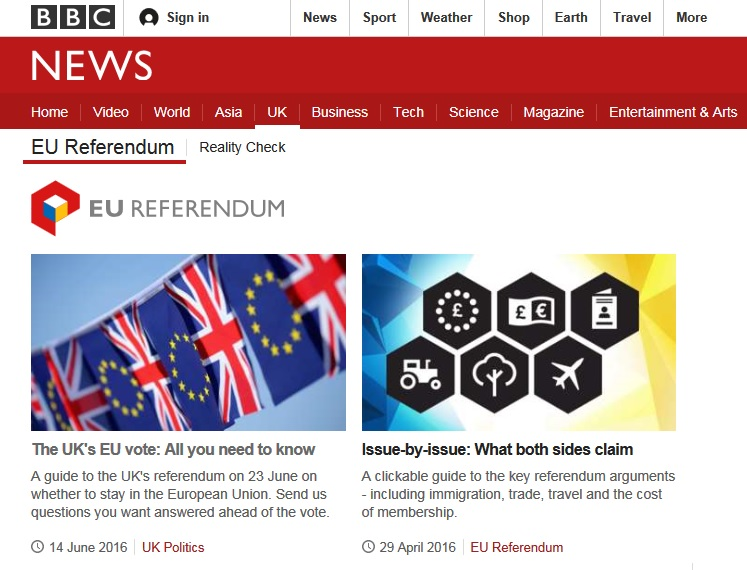 영국 국민투표 D-7... '브렉시트'가 뭐길래?