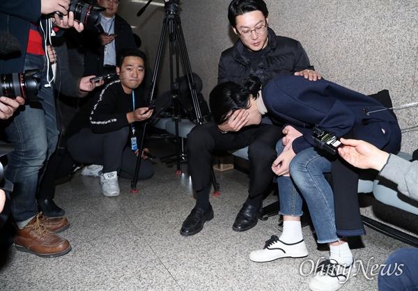 """""""우리 민식이가 협상 카드냐""""  패스트트랙 막으려 '민식이법' 볼모 잡은 나경원"""