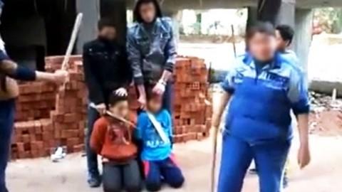 'IS 참수'  흉내낸 소년들 동영상 유포