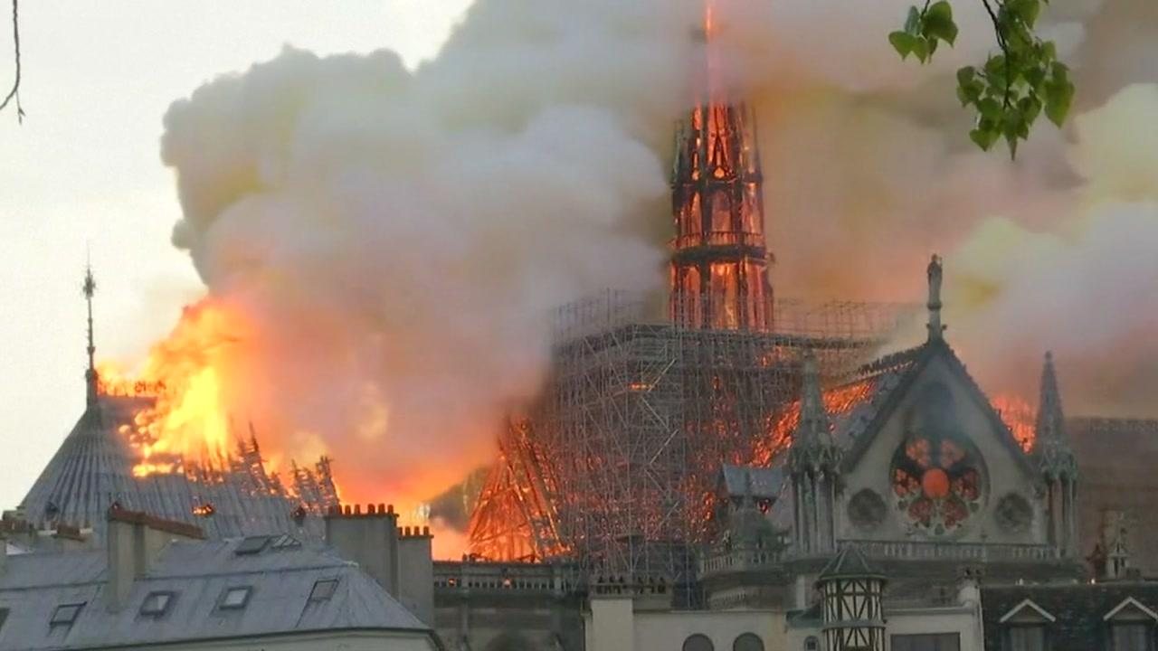 한국 천주교주교회의, 노트르담 대성당 화재에 위로 메시지
