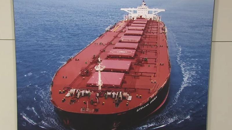 침몰 화물선 선원가족, 외교부 장관 면담 요청