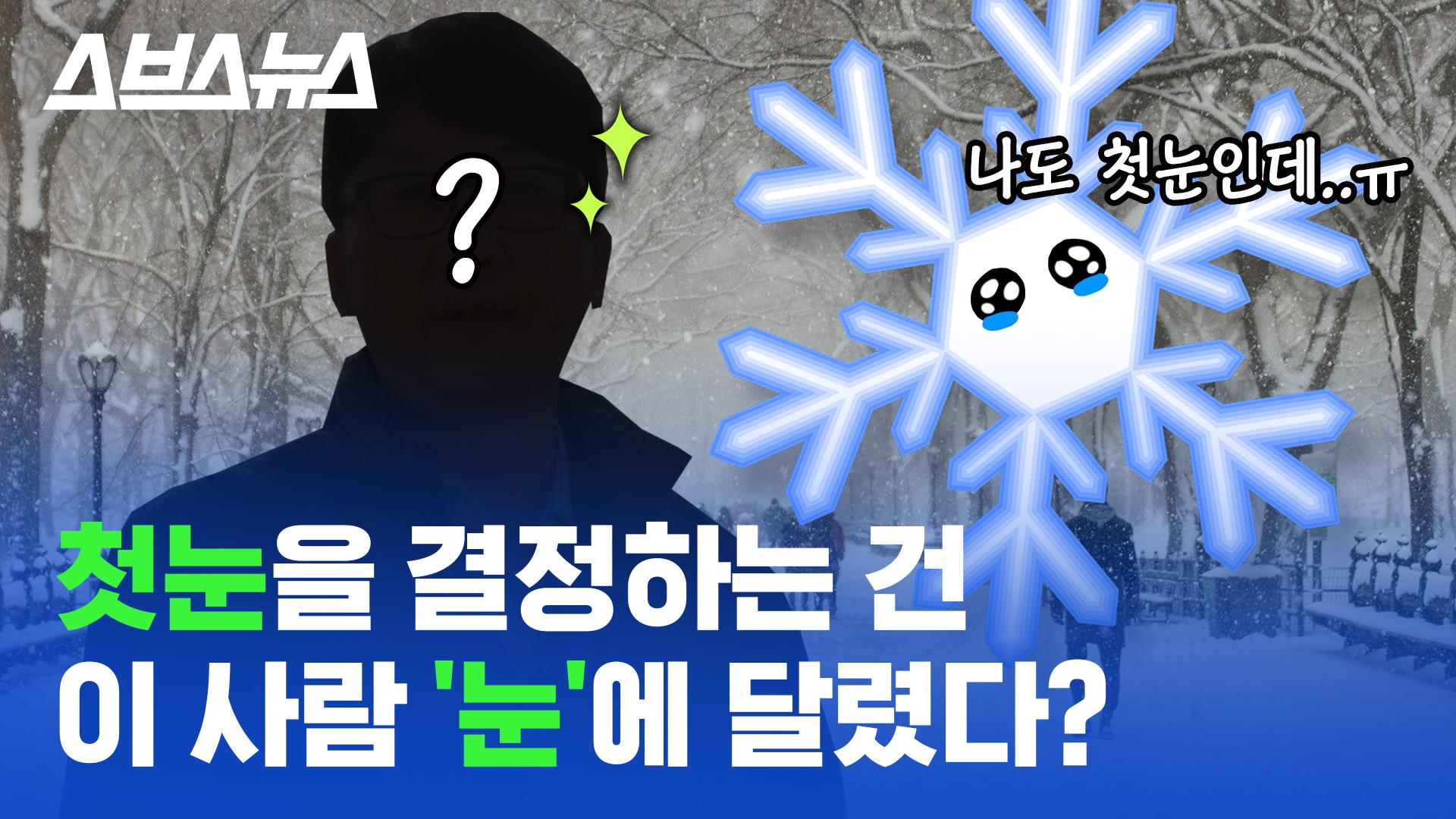 [스브스뉴스] 눈 못 봤는데 첫눈 왔다?…'첫눈'의 기준을 알아봤다