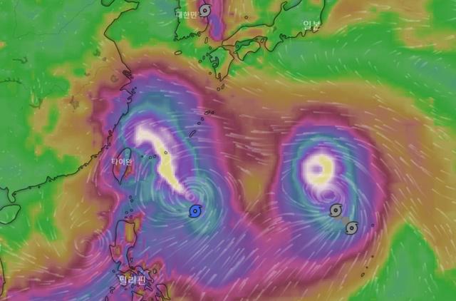 북상하는 9호 레끼마, 10호 크로사도 발생…태풍 위치는?