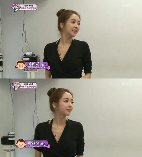 '슈퍼맨' 하루 발레 원장 박현선, 뛰어난 미모와 몸매에 시선집중