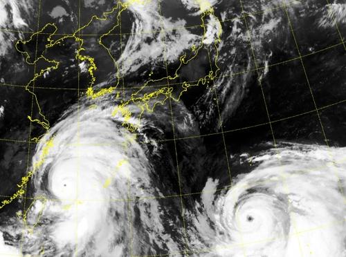 태풍 '레끼마'·'크로사' 북상에 중국·일본 '긴장'